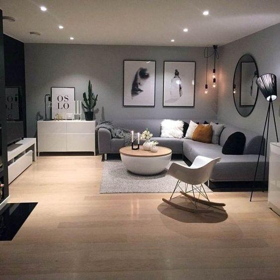 Evita sofás blancos en tu sala