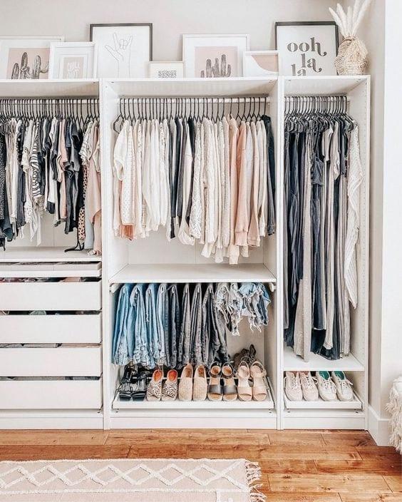 Ideas geniales para organizar tu vestidor