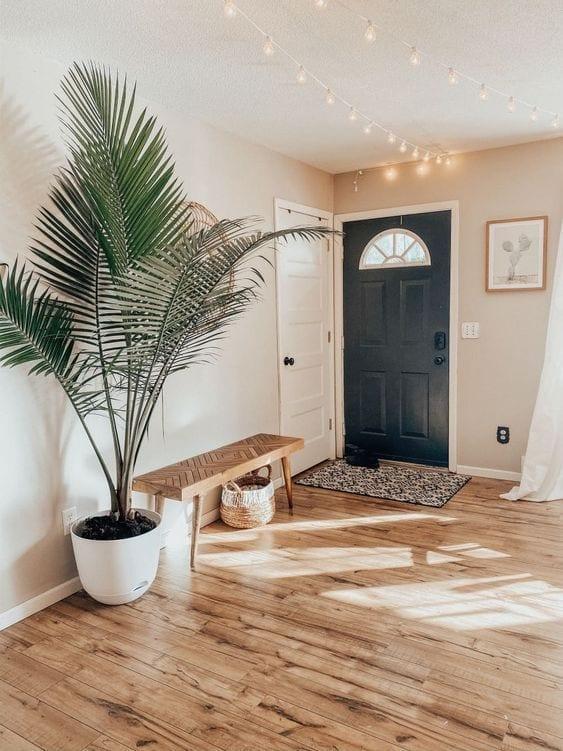 Ideas para decorar un recibidor con plantas
