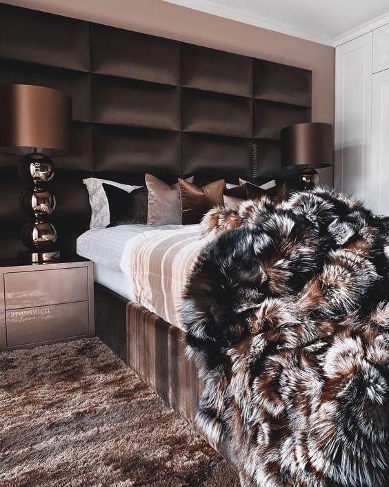 Materiales perfectos para una habitación elegante