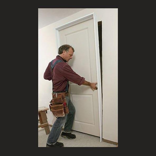 Montar y colocar la puerta