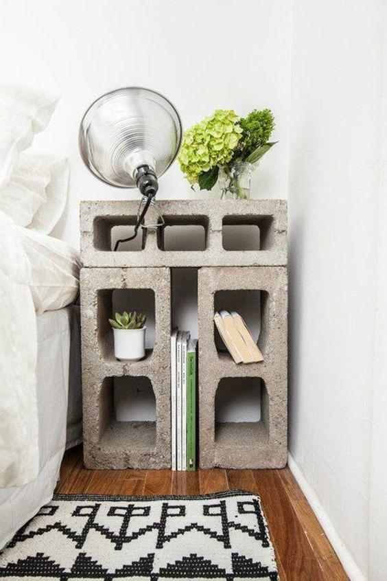 Bloques de cemento para decorar