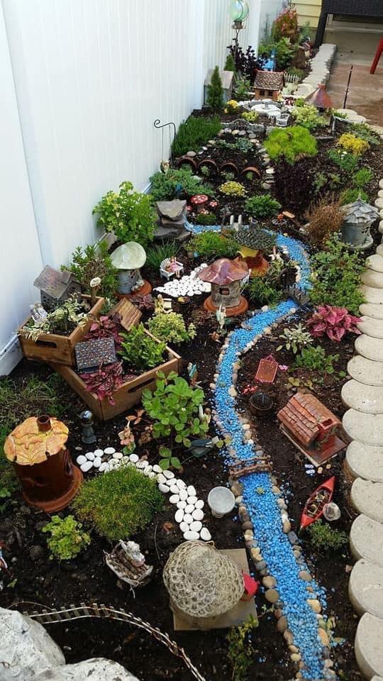 Jardines decorados estilo biomas