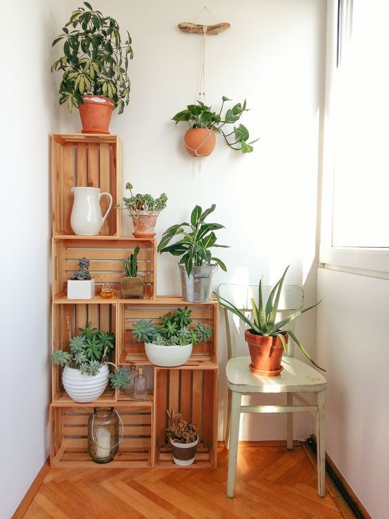 Cajas de madera para decorar
