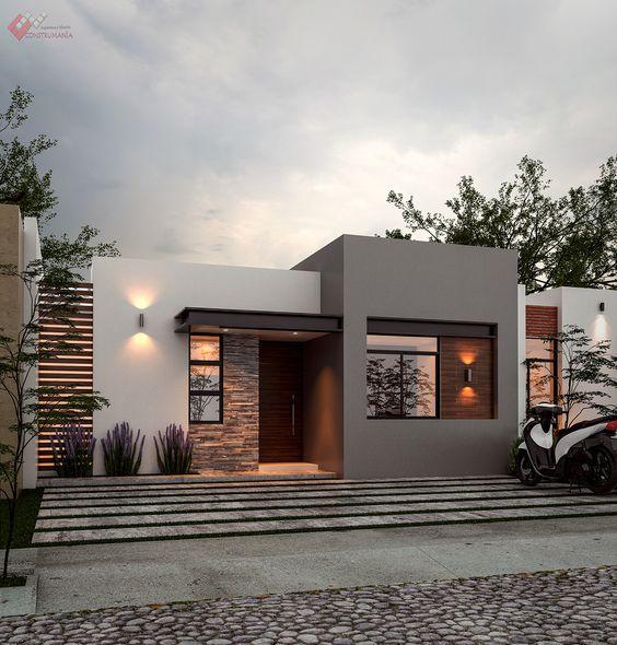 Casas modernas de un piso