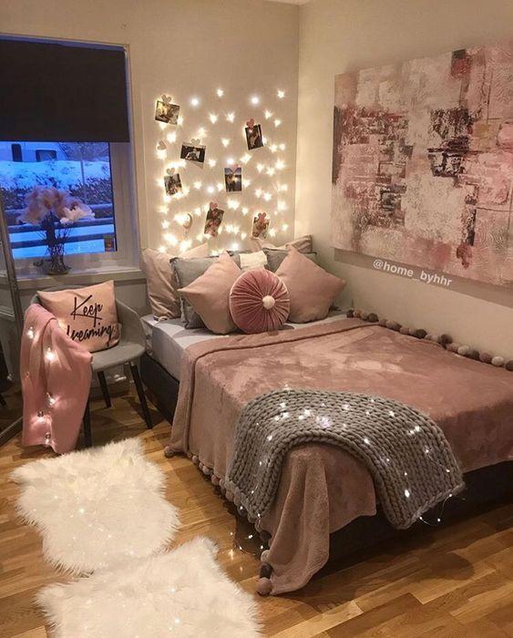Como decorar una habitación juvenil para mujer