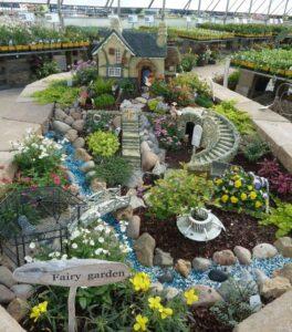 Como es un jardín estilo biomas