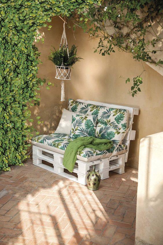 Decoración con muebles reciclados