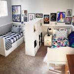 Decoración de cuartos compartidos niño y niña