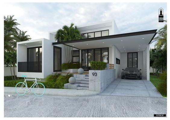 Ideas para casas modernas pequeñas