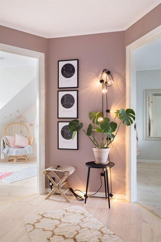 Ejemplos de interiores pintados con la regla del 60-30-10