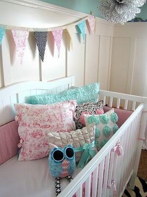 Habitaciones de niña recién nacida a tres años