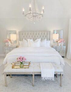 Habitaciones femeninas elegantes