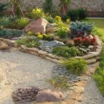 Jardín estilo estepas, praderas y pampas