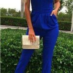 Jumpers en color azul ideales para looks semi formales