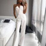 Jumpers en color blanco ideales para looks semi formales