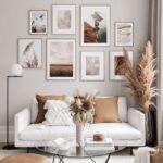 Láminas para decorar salas con poco dinero