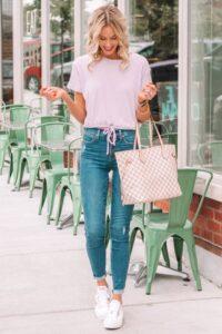 Outfits con converse blancos