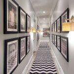 Pasillos decorados con fotos