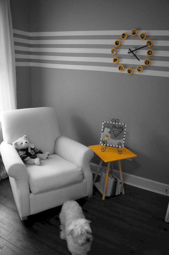 Pinta tus interiores al 30% con un color secundario