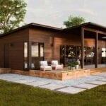 Colores para casas de campo modernas