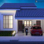 Colores para fachadas de casas pequeñas