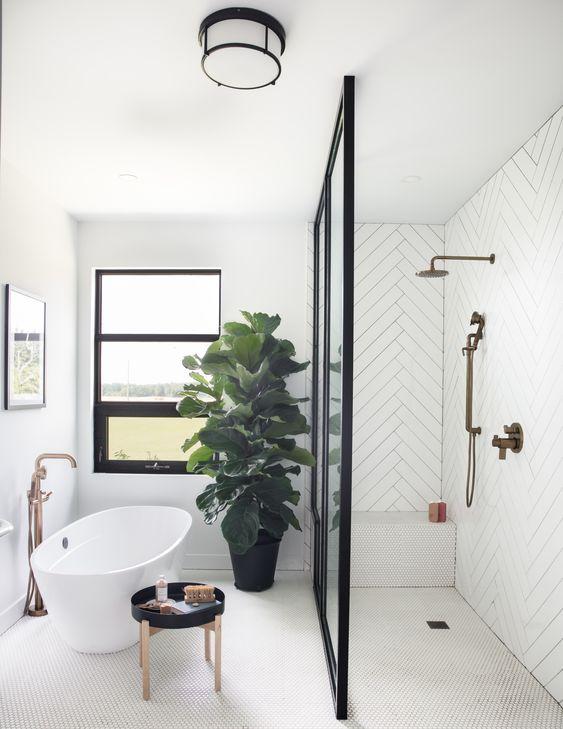 Colores para un baño elegante