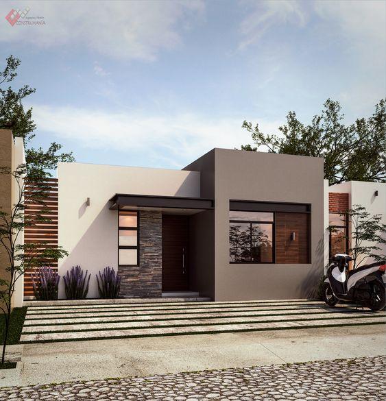 Como decorar fachadas de casas pequeñas