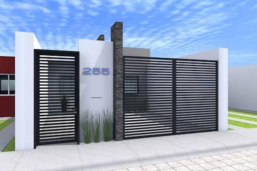 Diseño de casa pequeña y moderna
