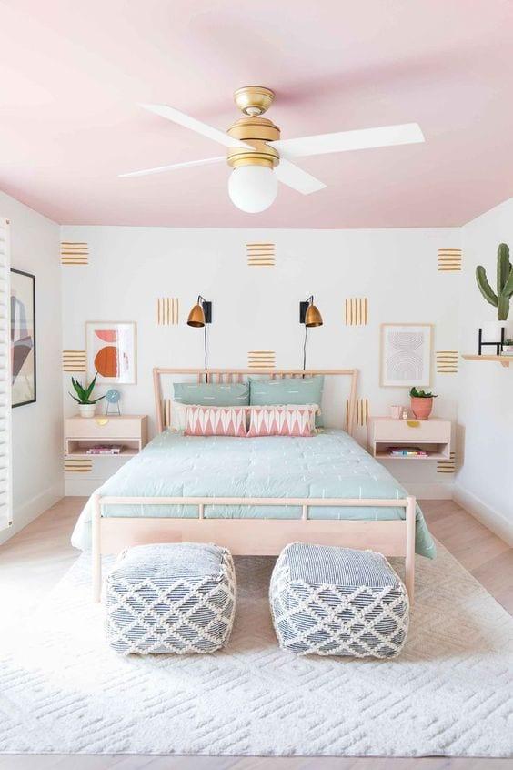 Espacios de tu casa que puedes pintar en tonos pastel
