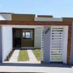 Fachadas de casas con cochera