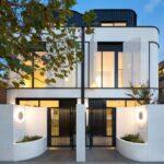 Fachadas de casas estilo duplex