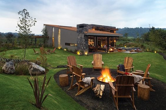 Ideas de casas de campo de lujo