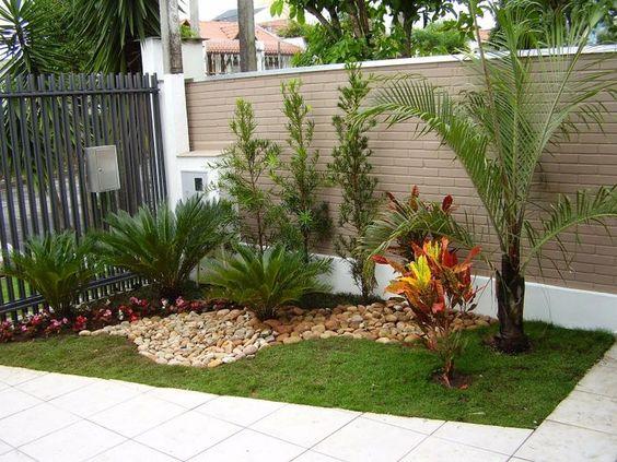 Ideas de jardín para fachada de casa pequeña