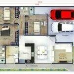 Planos de casas con cochera
