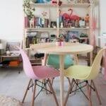 Usa colores pasteles en tus muebles