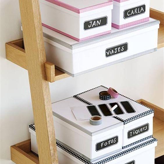 Usa etiquetas para ordenar