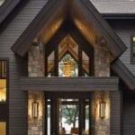 Casas rústicas con techos altos