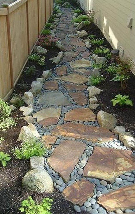Decora tu jardín con piedra
