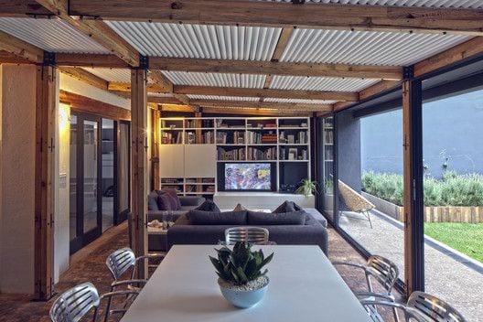 Diseños de casas de campo con techo de lamina
