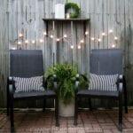 Muebles para decorar el jardín