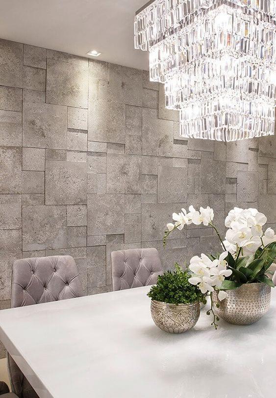 Revestimientos para decorar paredes interiores