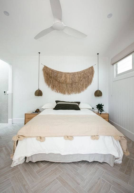 Tejidos de fibras naturales para decorar paredes