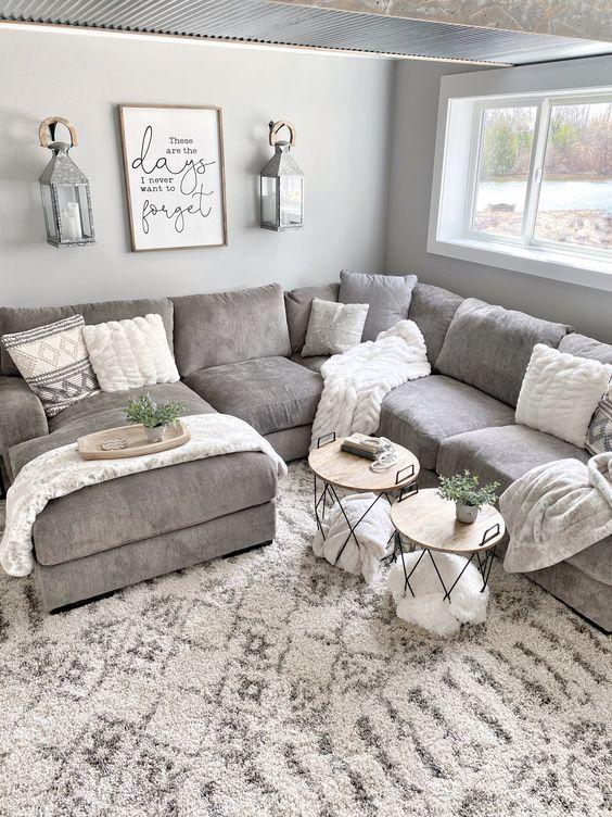 Diferentes estilos de decoración para salas pequeñas
