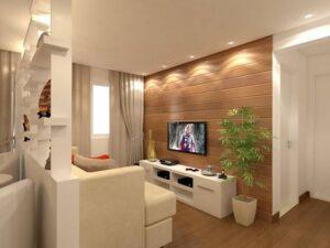 Formas de dividir salas de estar pequeñas
