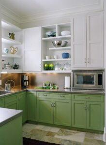 Diseño de cocinas 2021 - 2022 en colores brillantes