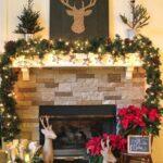 Como decorar la chimenea con un estilo clásico navideño