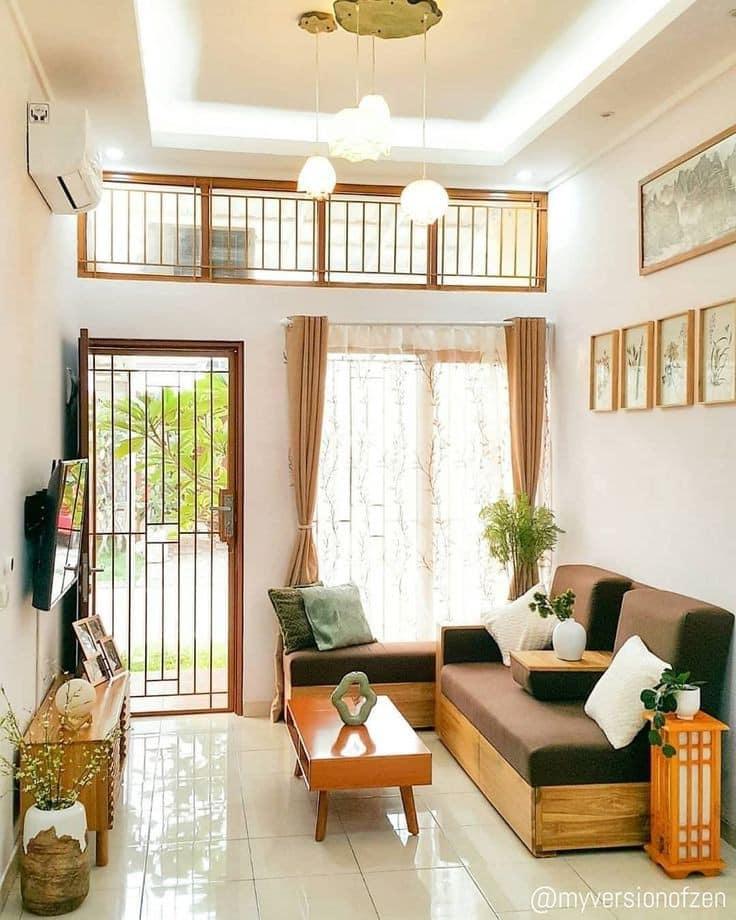 Como decorar el techo de salas pequeñas