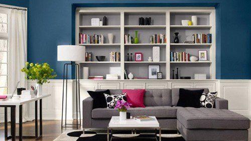 Colores para la decoración de salas